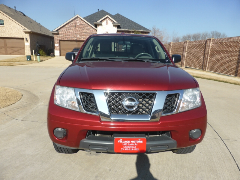 Nissan Frontier 2016 price $21,995