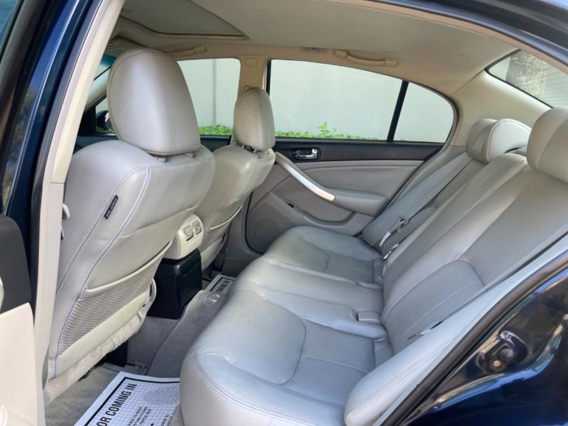 Infiniti G35 Sedan 2005 price $6,495
