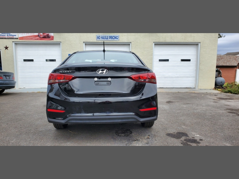 Hyundai Accent 2019 price $12,995