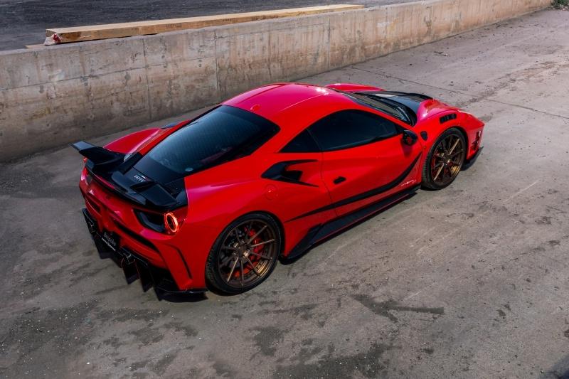 Ferrari 488 GTB MANSORY 4XX SIRACUSA 2016 price $349,000