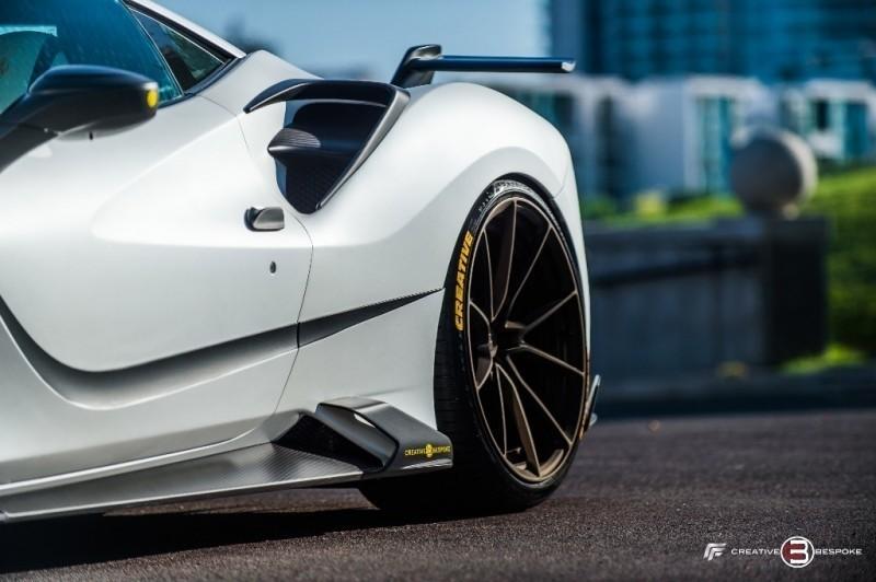 Ferrari 488 GTB MANSORY 4XX SIRACUSA 2017 price $369,800