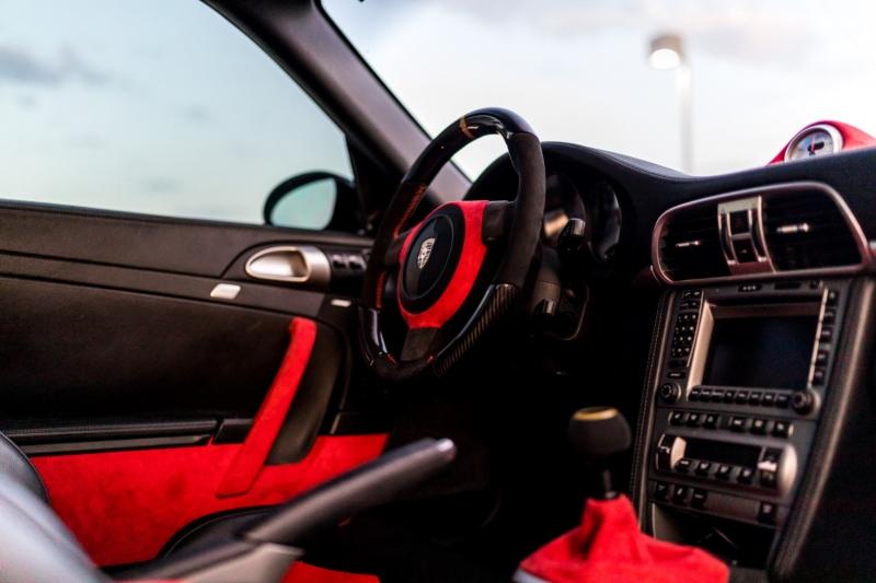 Porsche 911 turbo WIDE-BODY SLANT NOSE 2007 price $129,800