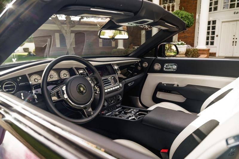 Rolls-Royce Dawn blk badge ONYX carbon edition 2018 price $349,800