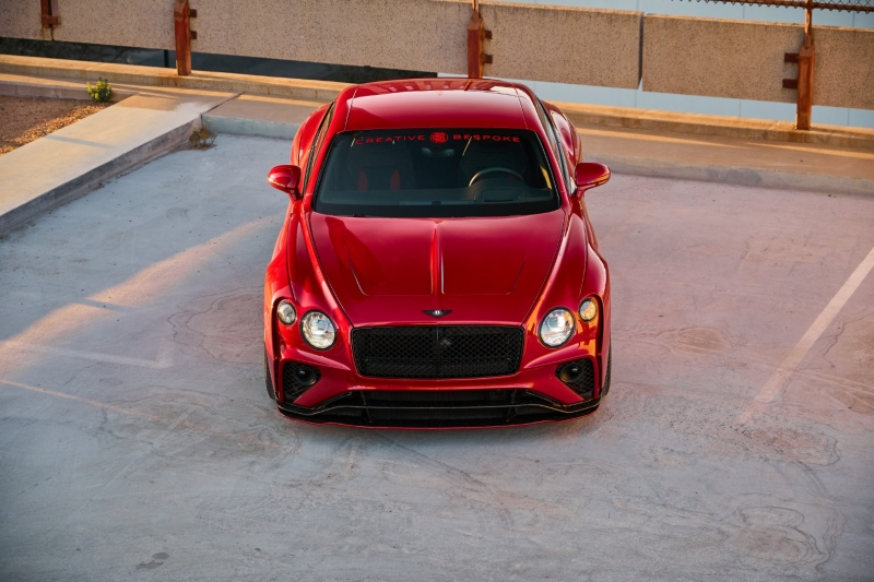 Bentley Continental ONYX Forged Carbon Widebody GTX III 2020 price $339,000