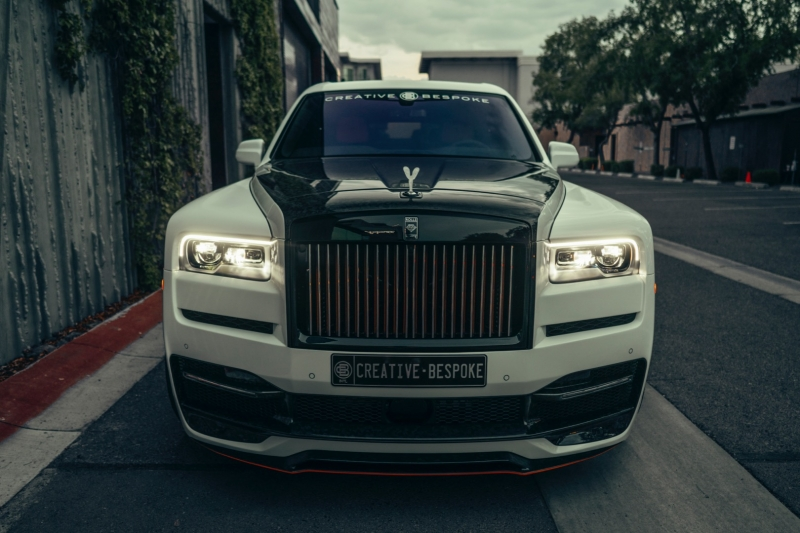 Rolls-Royce Onyx Forged Carbon Cullinan 2021 price $599,000