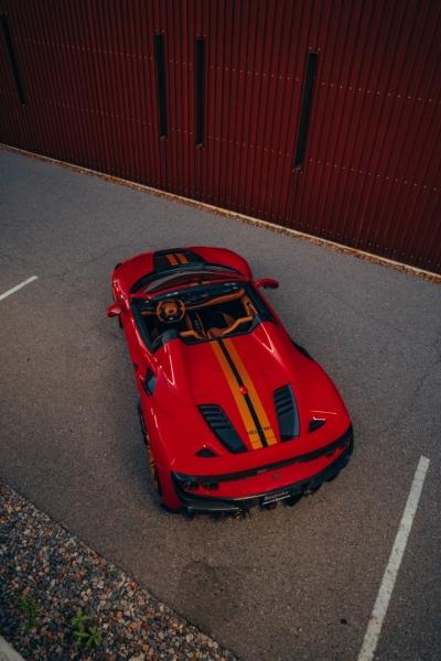 Ferrari F8 Spider KEYVANY LIMITED EDITION 2021 price $699,000