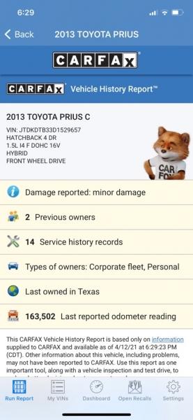 TOYOTA PRIUS C 2013 price $5,500