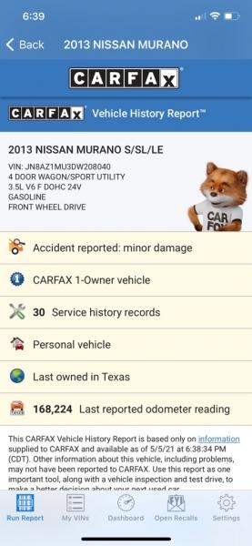 NISSAN MURANO 2013 price $7,990