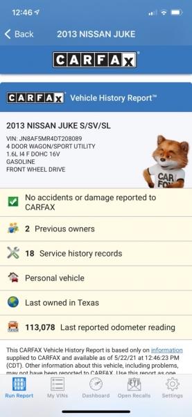 NISSAN JUKE 2013 price $8,500