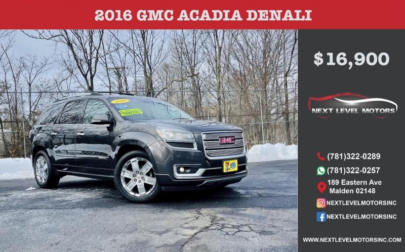 GMC Acadia 2016 price $16,900
