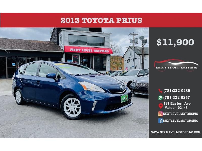 Toyota Prius v 2013 price $11,900