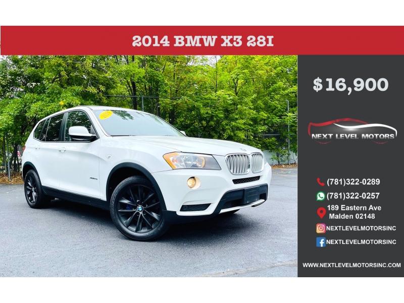 BMW X3 2014 price $16,900