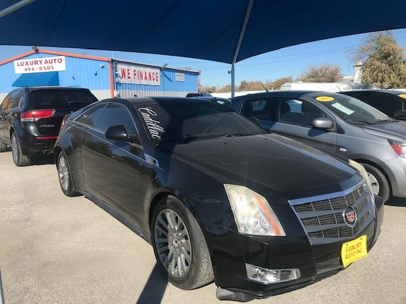 Cadillac CTS Coupe 2011 price $11,000