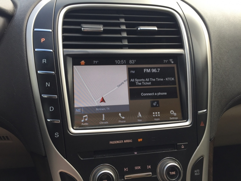 Lincoln MKX 2016 price $21,995