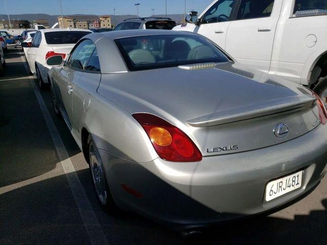 Lexus SC 2002 price $8,999