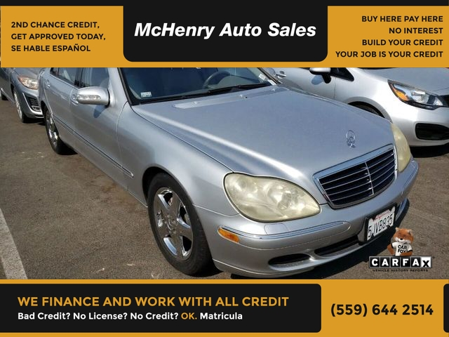 Mercedes-Benz S-Class 2004 price $6,900