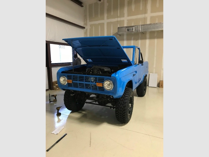 Ford Bronco 1968 price BUILD TO SUIT