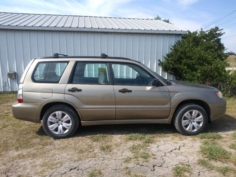 SUBARU FORESTER 2008 price $7,999
