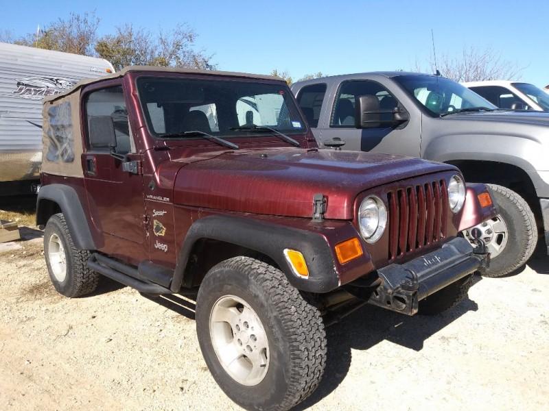 Jeep WRANGLER / TJ 2002 price $13,995