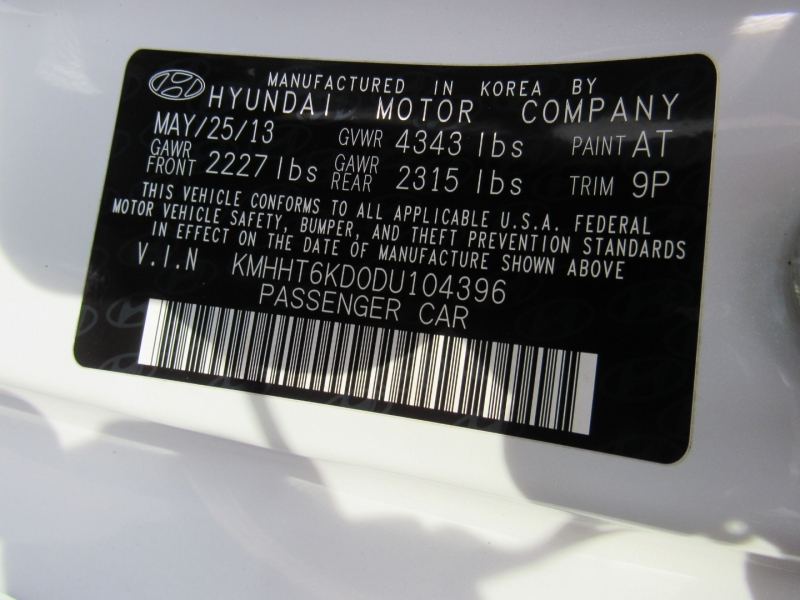 Hyundai Other 2013 price $12,995