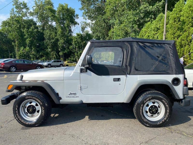 Jeep Wrangler 2003 price $8,995