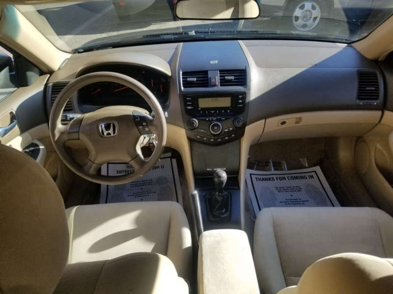 Honda Accord 2003 price $2,995