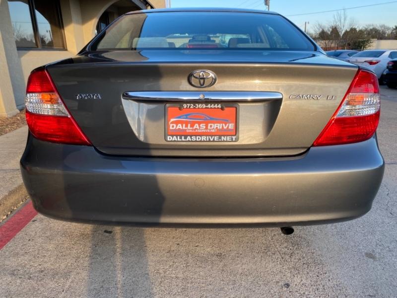 Toyota Camry 2002 price $4,588
