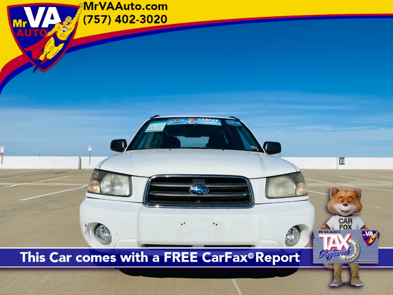 Subaru Forester (Natl) 2005 price $3,999 Cash