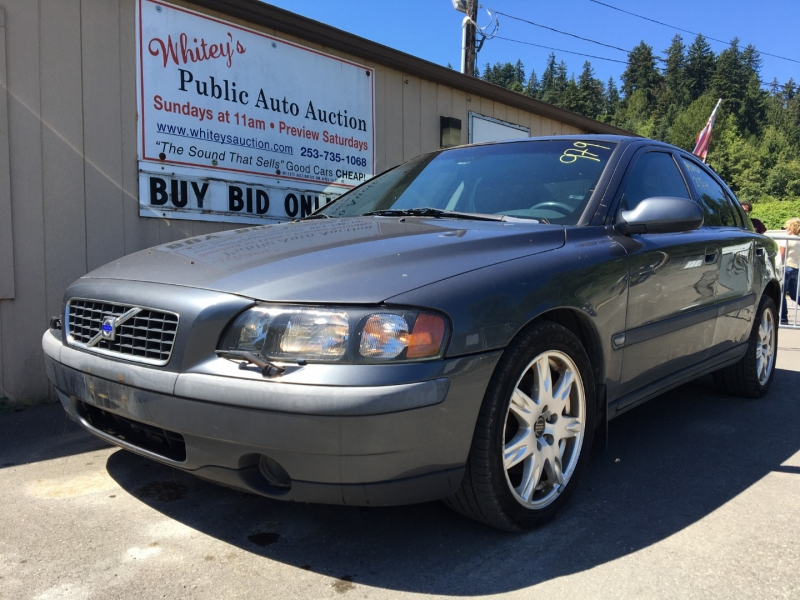 Volvo S60 2003 price $1750 Selling Price