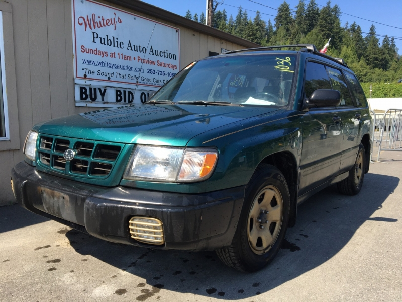 Subaru Forester 2000 price $840 Cash