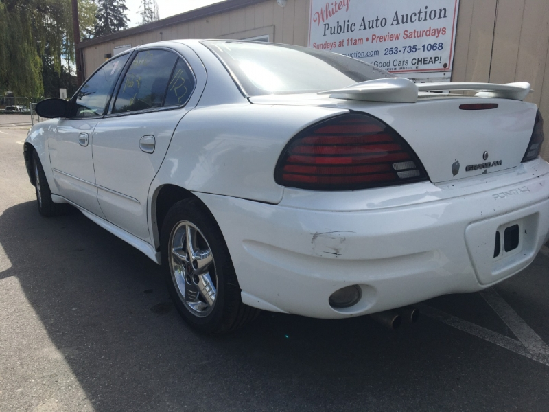 Pontiac Grand Am 2004 price $1,275 Cash