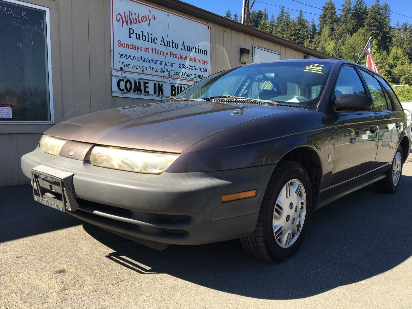 1999 Saturn Sw Sw1 Manual Whiteys Auctioneers Appraisals Inc Dealership In Pacific