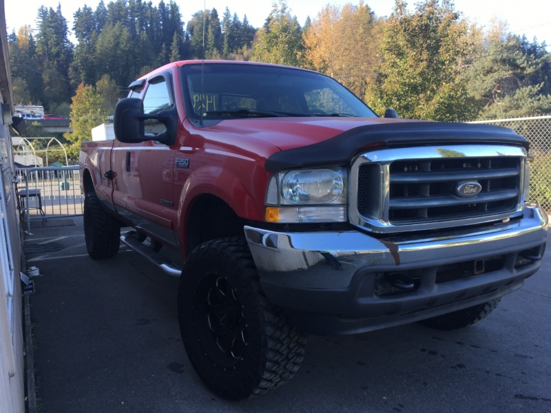 Ford Super Duty F-250 2002 price $11,500 Cash