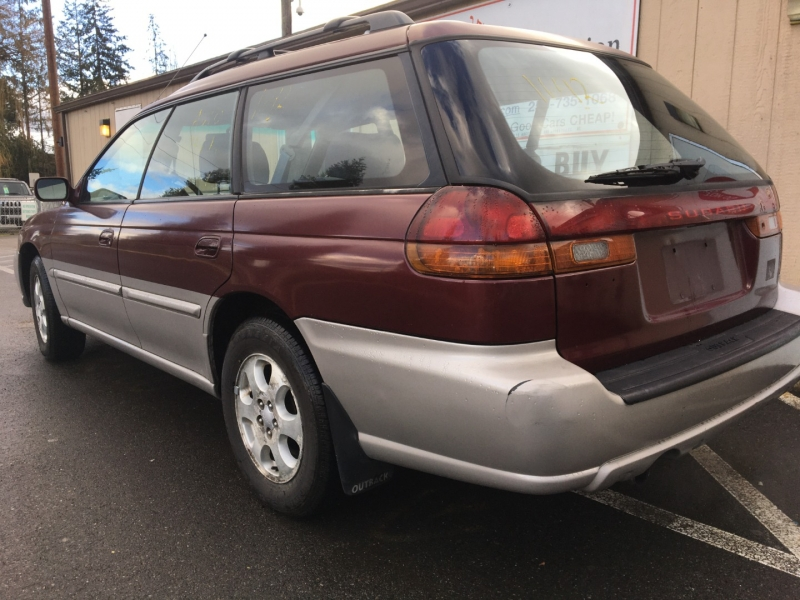 Subaru Legacy Wagon 1998 price $2,250 Cash