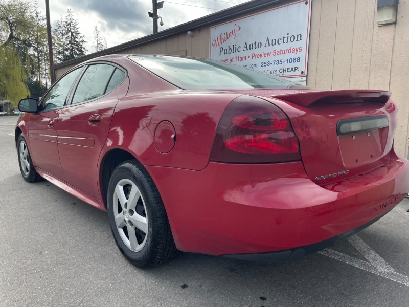 Pontiac Grand Prix 2007 price $2,500 Cash