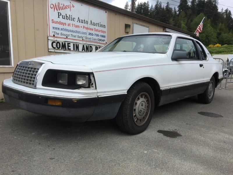 Ford Thunderbird 1984 price $500 Cash