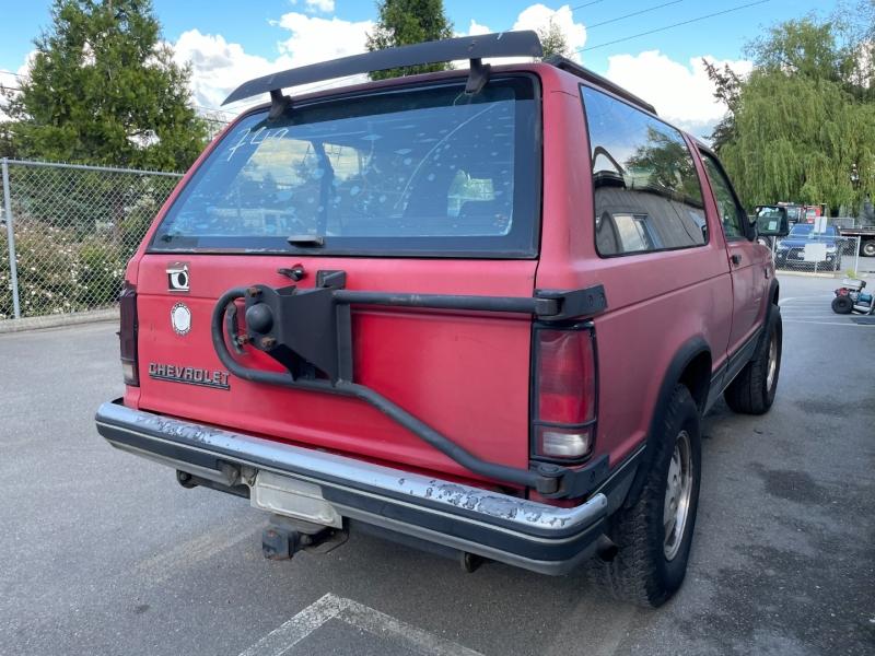 Chevrolet S-10 Blazer 1989 price $775 Cash