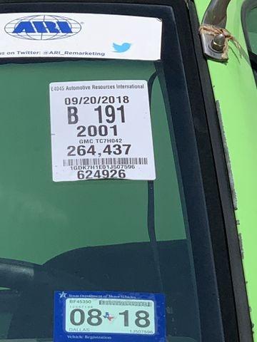 GMC MEDIUM DUTY C7500 2001 price $3,990