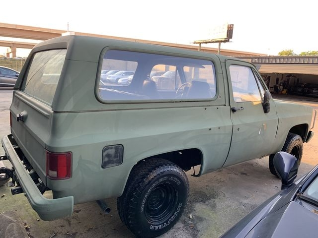 chevy Military Blazer 1986 price $9,990