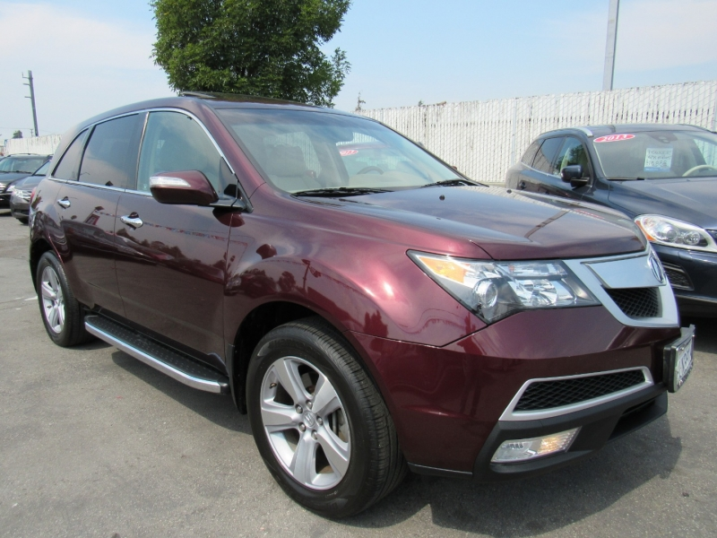 Acura MDX 2012 price $16,888