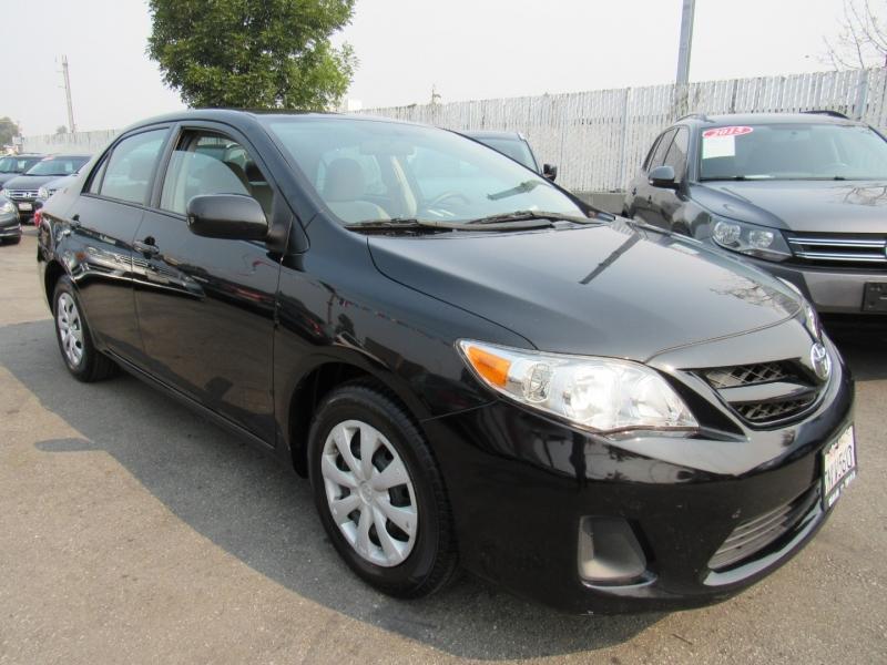 Toyota Corolla 2013 price $8,588