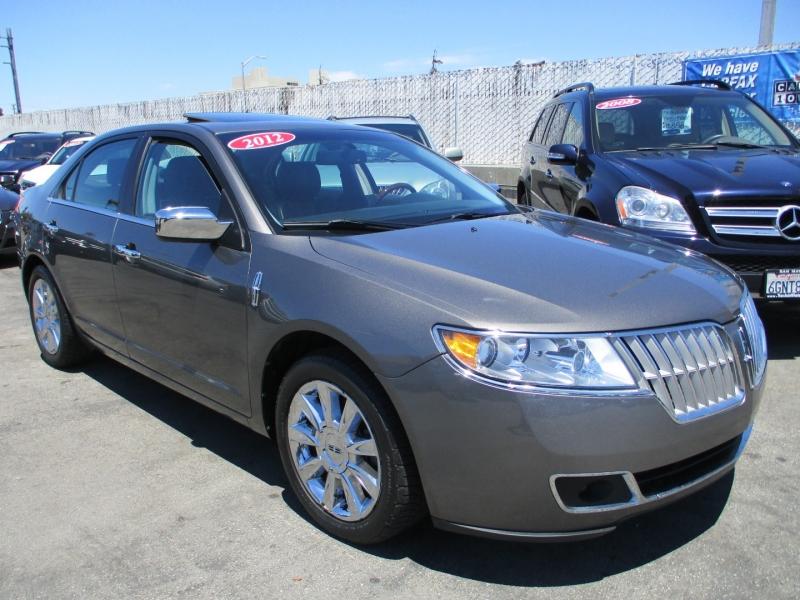 Lincoln MKZ 2012 price $12,888