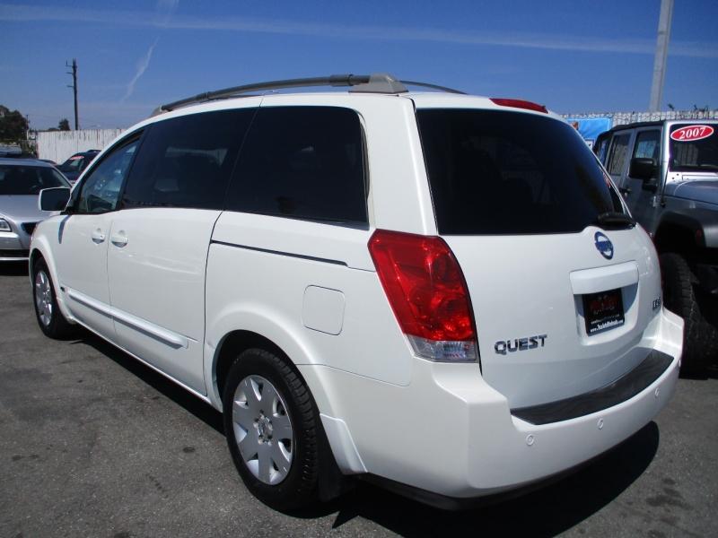 Nissan Quest 2006 price $6,888