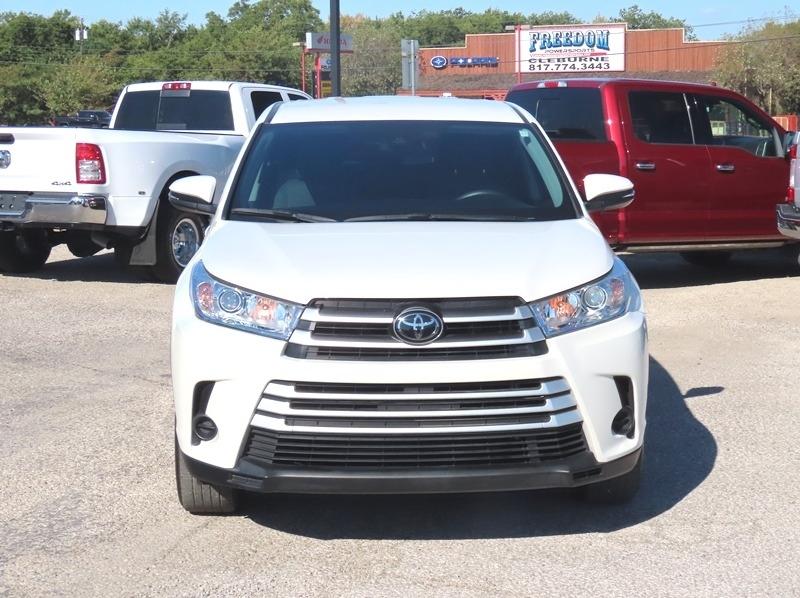 Toyota Highlander 2019 price $28,950