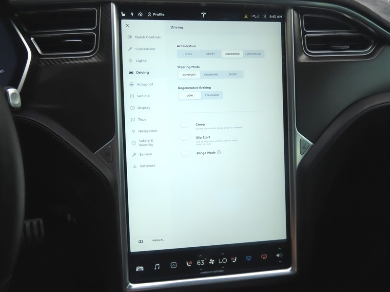 Tesla Model S 2015 price $59,950