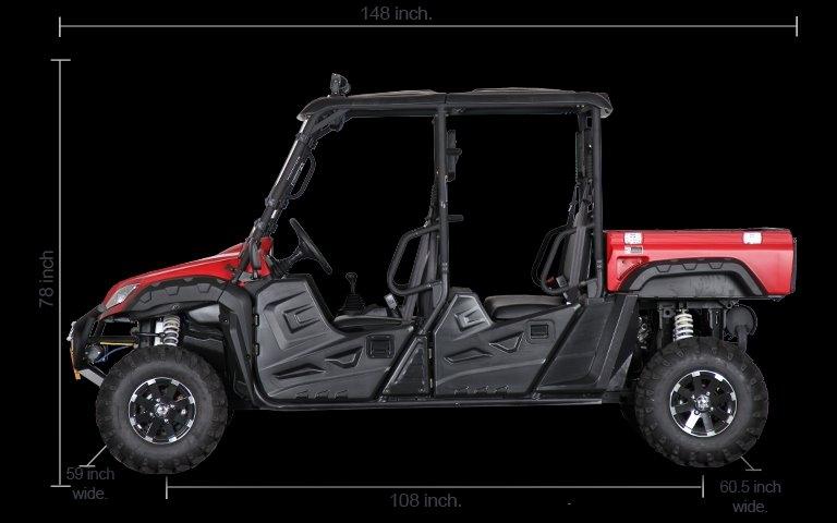 BMS RANCH PONY 4 SEAT 2020 price $10,699