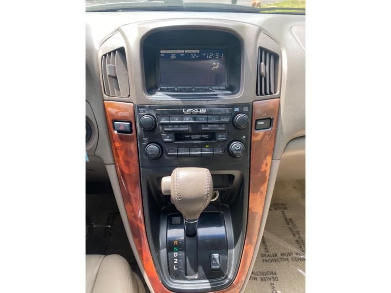Lexus RX 300 Luxury SUV 1999 price $4,995