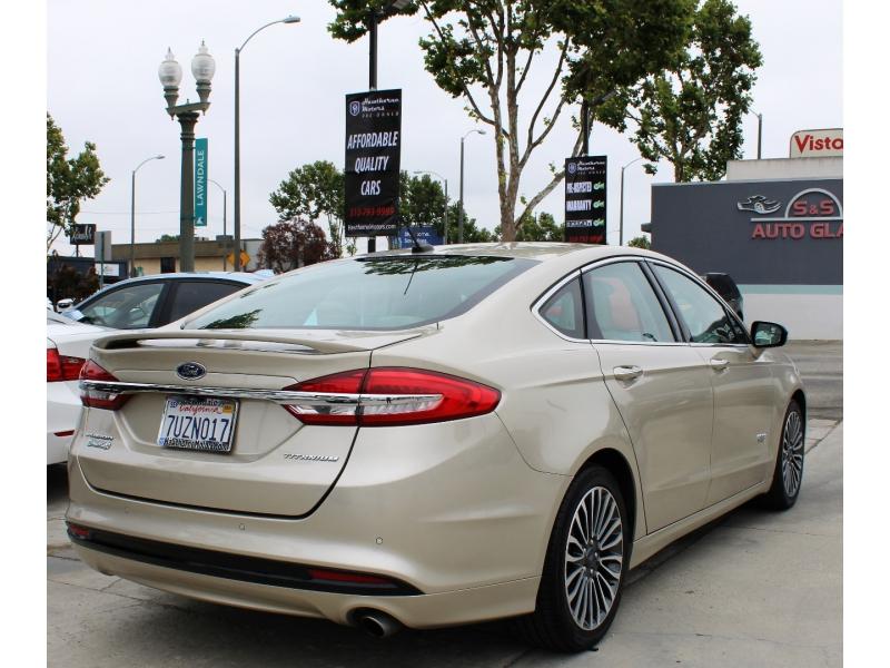 Ford Fusion Energi 2017 price $15,695