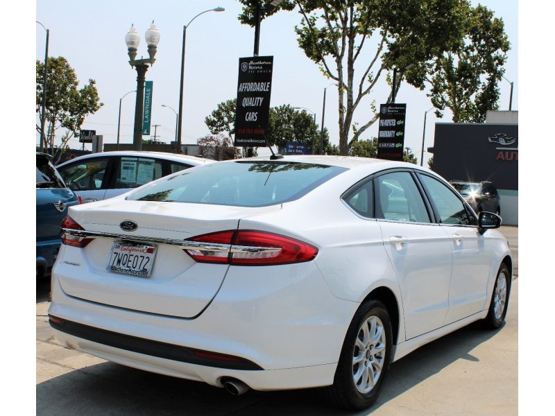 Ford Fusion 2017 price $13,695