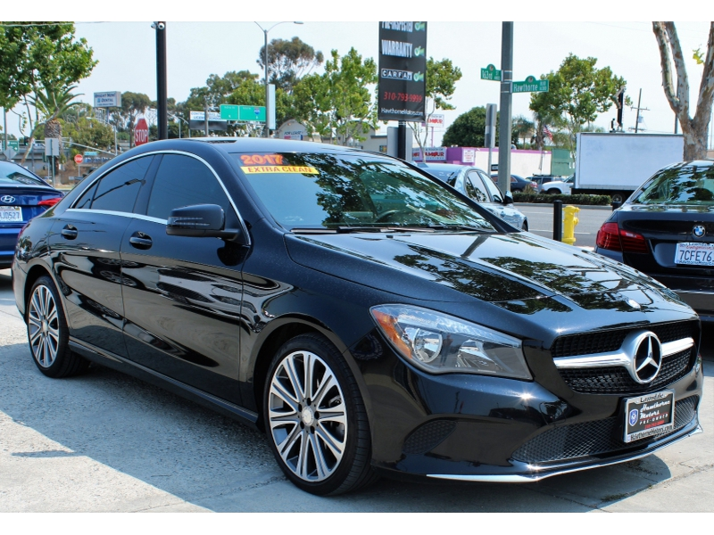 Mercedes-Benz CLA 2017 price $22,995